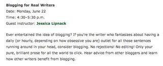 Bloggingforrealwriters