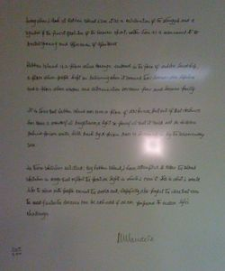 Mandela letter