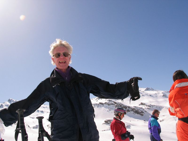 Jeff at Courchevel 2004