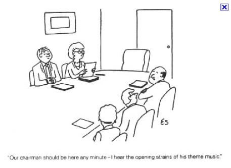 Eli's meeting cartoon