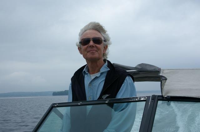 Jeff on lake