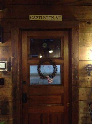 Station door