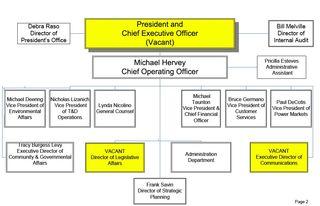 LIPA org chart snip