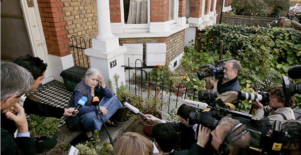 Doris lessing from NYT